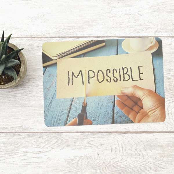 Postkarte Impossible